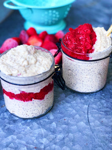 Chia Seed Pudding w/ Organic Berry Jam
