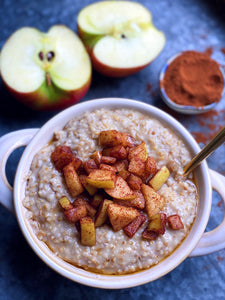Cinnamon Maple Steel Cut Oats