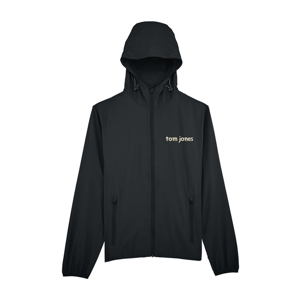 TOM JONES LOGO BLACK WINDBREAKER