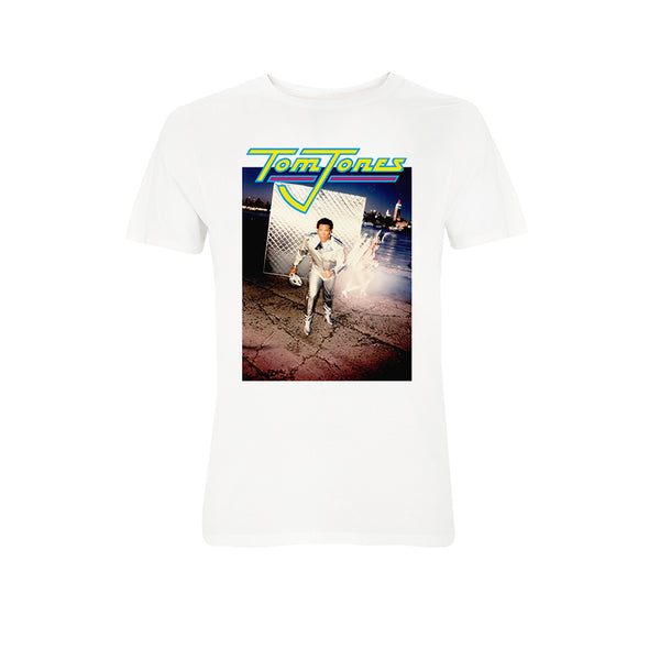 SPACE MAN WHITE T-SHIRT
