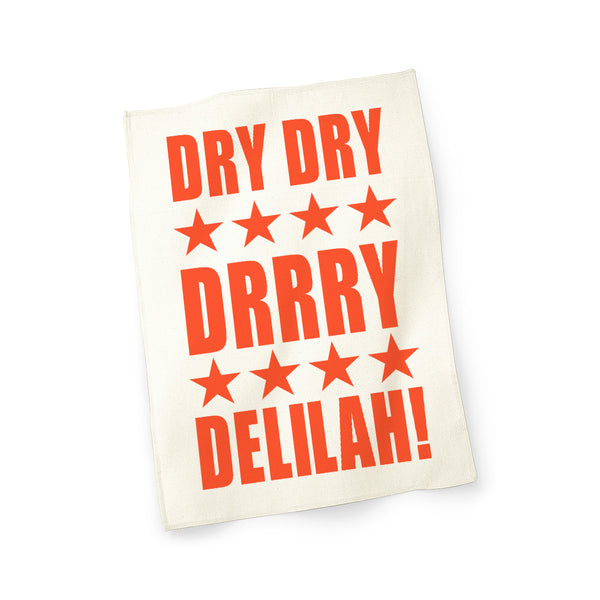 DRY DELILIAH NATURAL TEA TOWEL