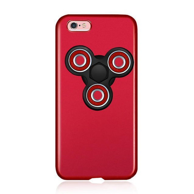 2 in 1 Phone Case With Finger Spinner for iPhone 7 7Plus 6 6s 6Plus
