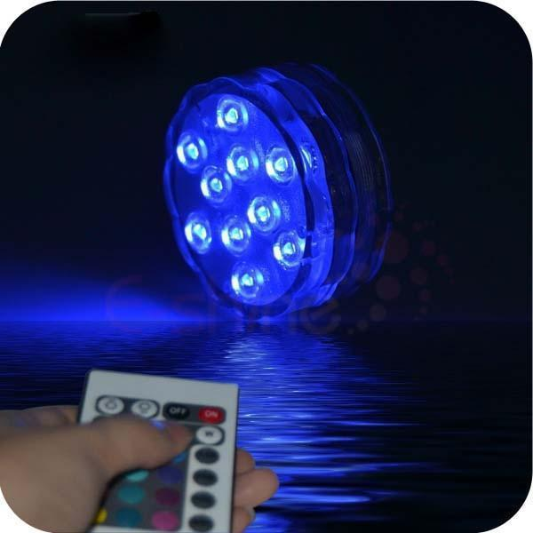 2017 Waterproof Underwater Submersible LED Party Lamp