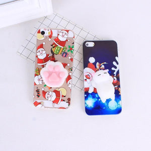 Christmas Squishy Cases For iPhone