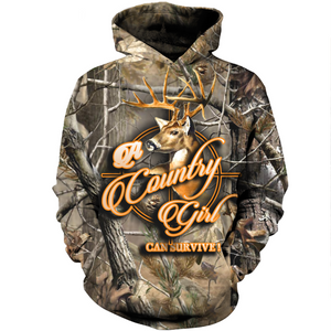 3D printed Country Girl T-shirt Hoodie SCAK120405