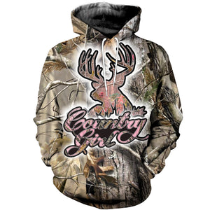 3D printed Country girl  T-shirt Hoodie SCTL110411