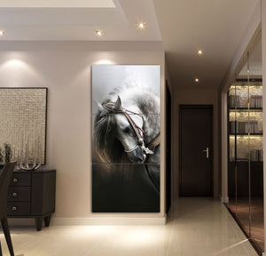 3-piece Beautiful Horse Canvas Wall Art CTM130315