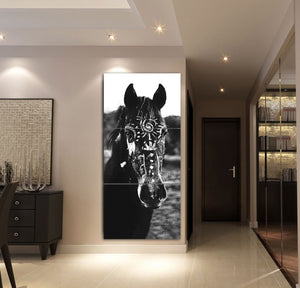 3-piece Beautiful Horse Canvas Wall Art GTK390302