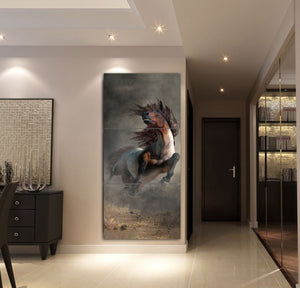 3-piece Beautiful Horse Canvas Wall Art GTK390304
