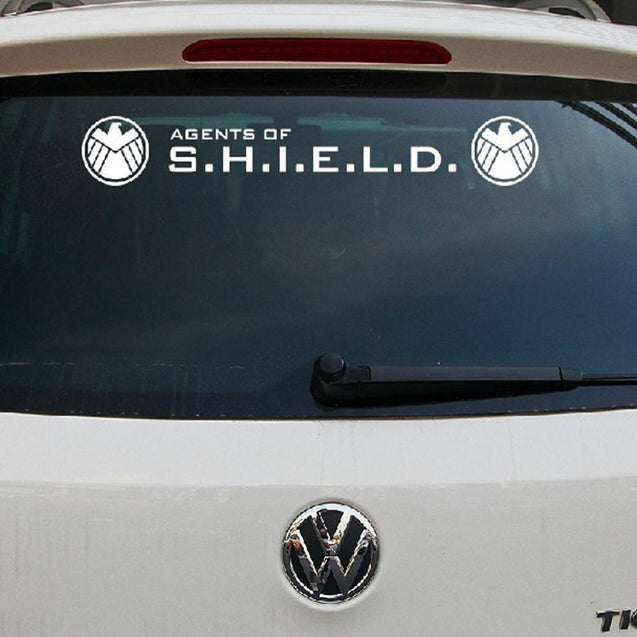 135x21cm Agents Of Shield Car Front Windshield Sticker