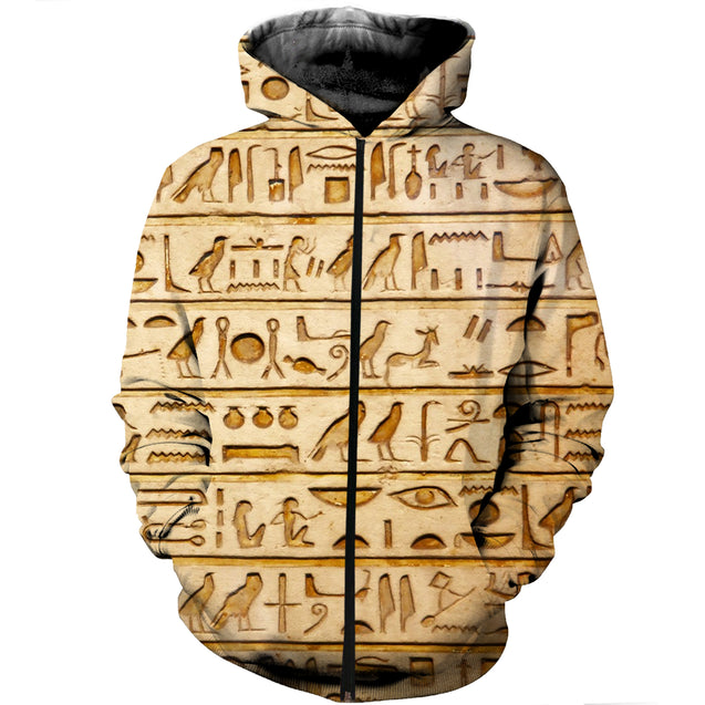 3D Printed Ancient Egyptian Words Clothes