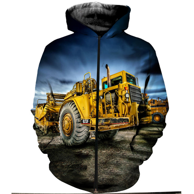 3D Printed Heavy Equipment  Clothes