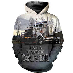 3D printed Truck T-shirt Hoodie SCAL070507