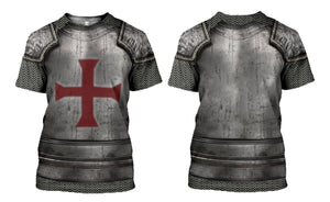 3D printed Knights Templar Tops