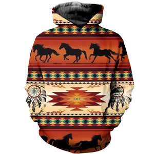 3D printed Horse dream catcher T-shirt Hoodie ADUL050411
