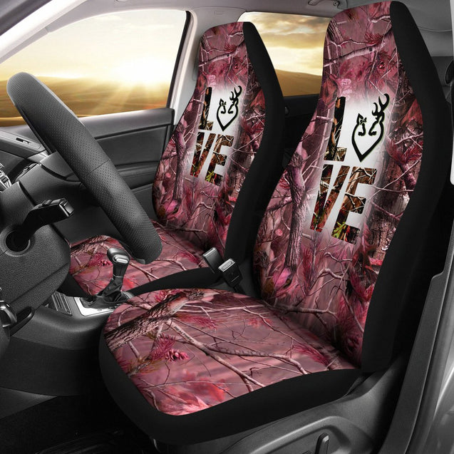 2pcs Country girl Car Seat Covers ADGM300308