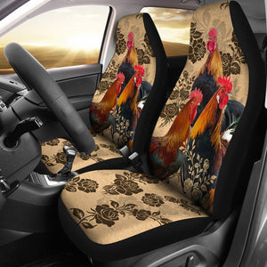 2pcs Chicken Car Seat Cover