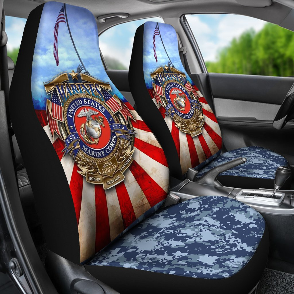 Marine Corps Car Seat Covers