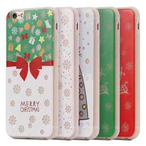 Merry Christmas Luminous Phone Case For iPhone