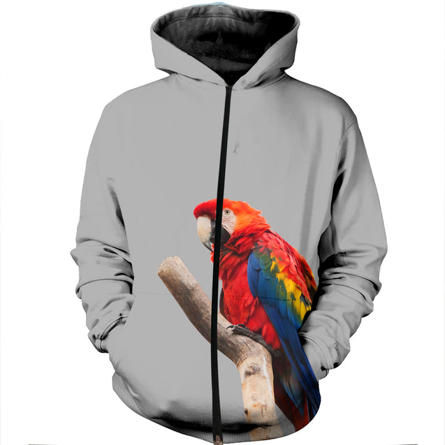 3D Printed Parrot Looking Outside Clothes
