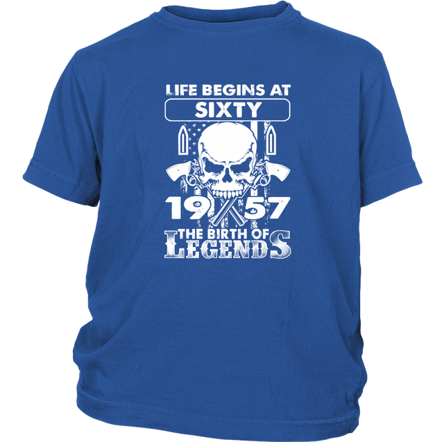 1957 the birth of legends t-shirt