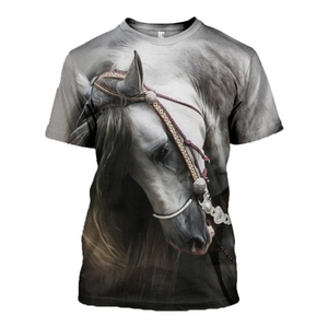3D printed Beautiful Horse T-shirt Hoodie CTM050318