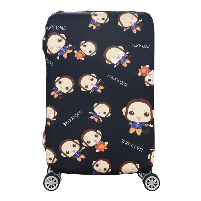 Protective Design Suitcase Cover - 23 Colors!