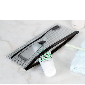 Transparent Toothbrush Bag