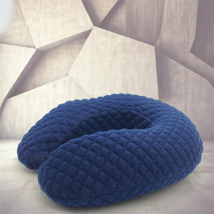 Grid Style Travel Neck Pillow