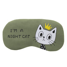 Load image into Gallery viewer, I'm A Night Cat Sleeping Mask