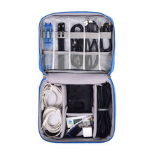 Load image into Gallery viewer, Digital Cable Organizer Travel Pouch