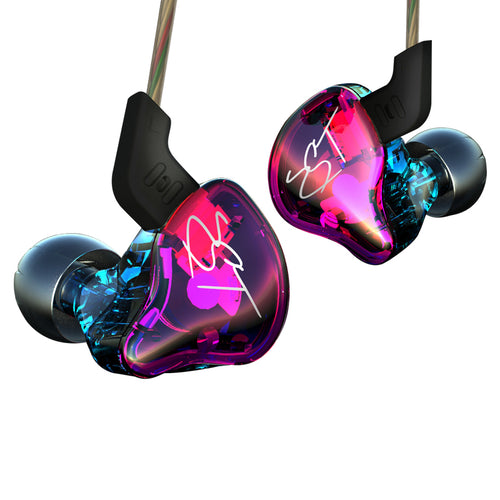 In Ear Earphone Hybrid Headsets