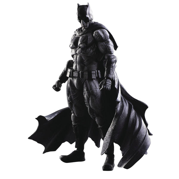 SDCC 2016 BATMAN VS SUPERMAN PLAY ARTS KAI BATMAN B&W FIGURE