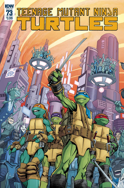 TMNT ONGOING #73 COVER A SMITH