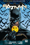 BATMAN/FLASH: THE BUTTON DELUXE EDITION HARDCOVER(REBIRTH) - LENTICULAR