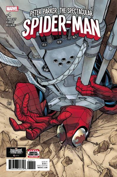PETER PARKER SPECTACULAR SPIDER-MAN #4
