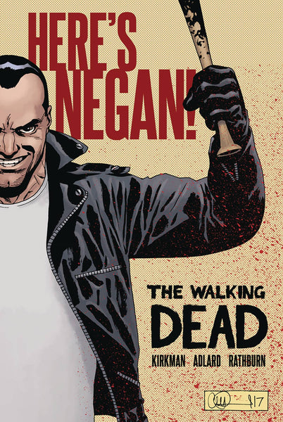 WALKING DEAD HERES NEGAN HARDCOVER
