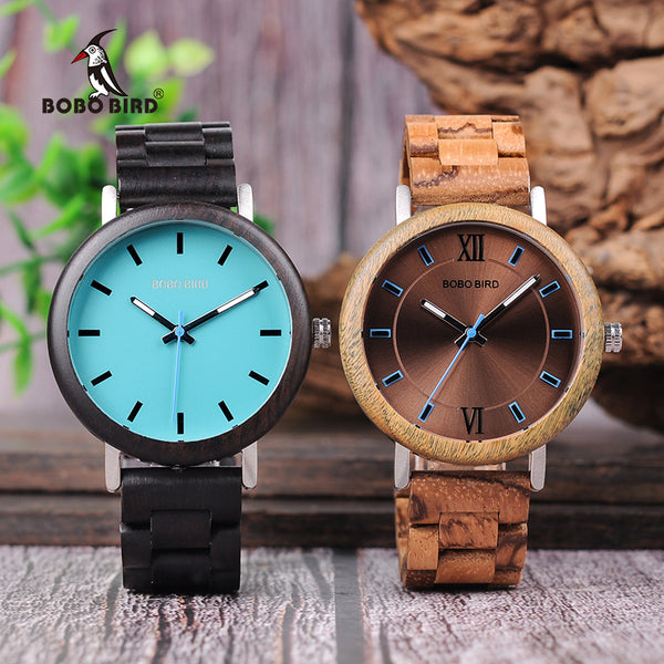 2018 Wood Band Quartz Watch