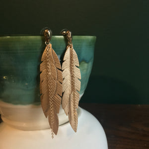 Palm Fringe Earrings