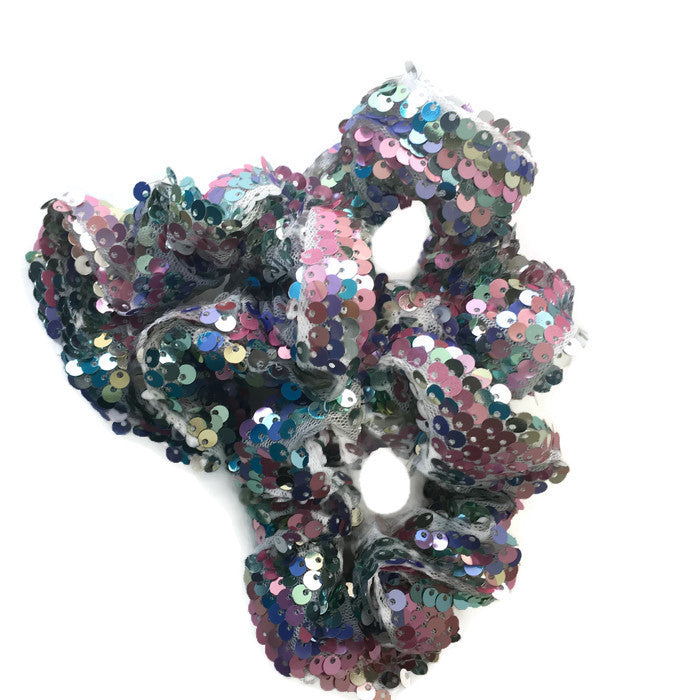 Mermaid Sequin Scrunchies