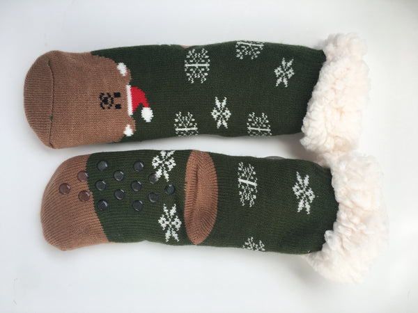 Kids Christmas Slipper Socks