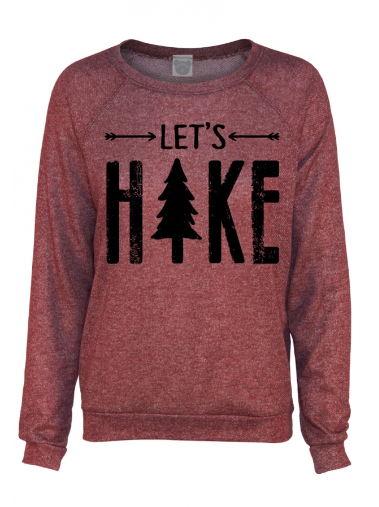 Let's Hike Sweater