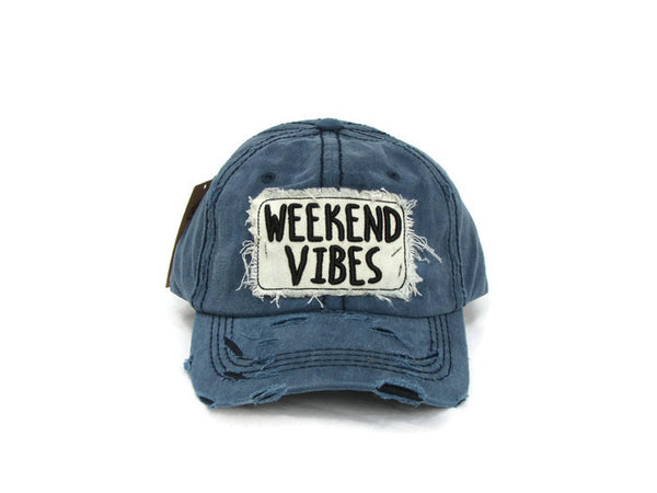 Weekend Vibes Baseball Cap