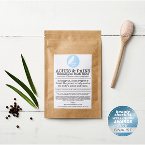 'Aches & Pains' Himalayan Bath Salts Sachet