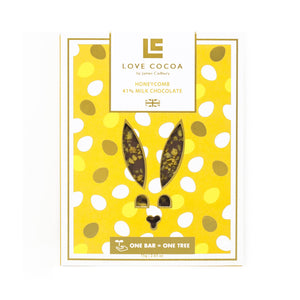 Easter Bunny Honeycomb 80g Bar