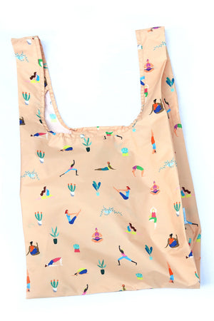 'Yoga Girls' Reusable Bag -100% Recycled from Plastic Bottles