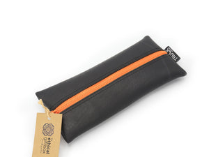 Inner Tube Pencil Case - Orange - The Ethical Gift Box