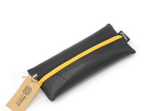Inner Tube Pencil Case - Yellow
