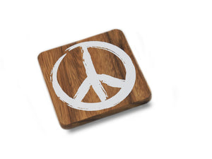 Peace Coaster - The Ethical Gift Box