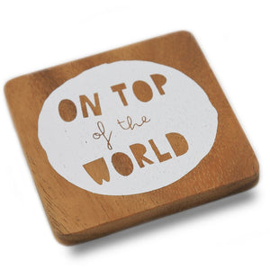 'On Top of The World' Coaster - The Ethical Gift Box